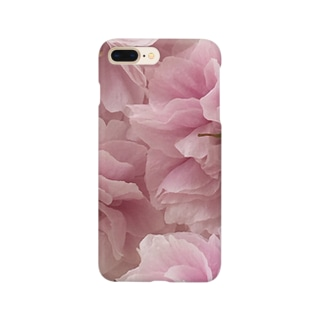 八重咲き Smartphone cases