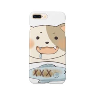 食いしん坊なねこちゃん Smartphone cases