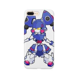 [ロボロボダンスバトル]ラブ&ピース Smartphone cases