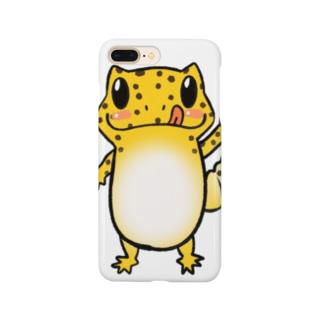 レオパイラストグッズ Smartphone cases