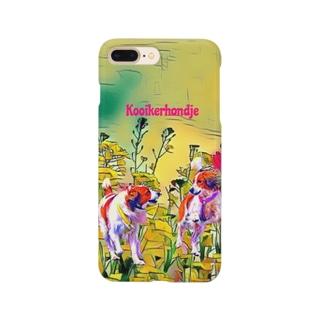 kooiker and flower 1 Smartphone cases