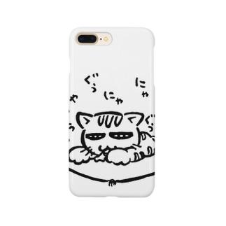 猫(寝)言 Smartphone cases