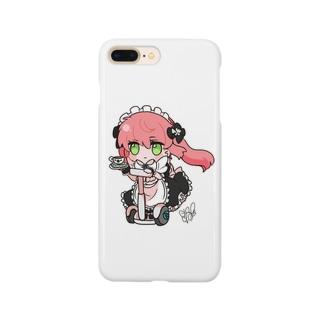 セグウェイなメイドさん Smartphone cases