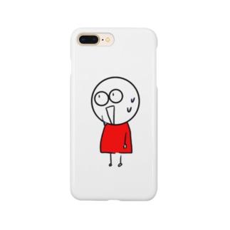 チビィズ(赤) Smartphone cases