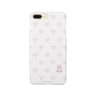 ハート柄かくれんぼ Smartphone cases