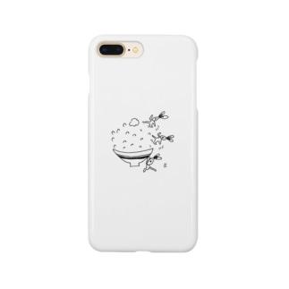 イソギウサギ  ごはん編 Smartphone cases