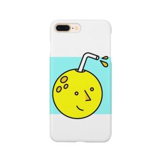 お月さんジュース Smartphone cases