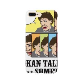 オカンの『トーク トゥ ミー サムシング』 Smartphone cases