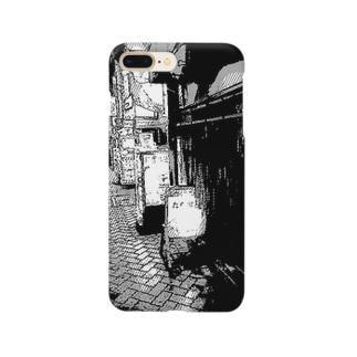 飲もうよ 高円寺(モノクロ) Smartphone cases