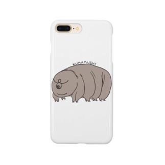 くまむしさん Smartphone cases