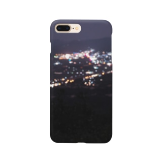 潤んだ夜景 Smartphone cases
