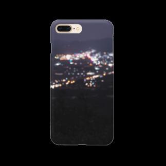 いのうえ(   ᷇࿀ ᷆  )の潤んだ夜景 Smartphone cases