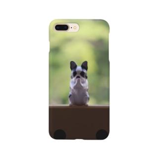 ガチャポンででた犬 Smartphone cases
