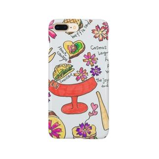 コスモスブレッド Smartphone cases