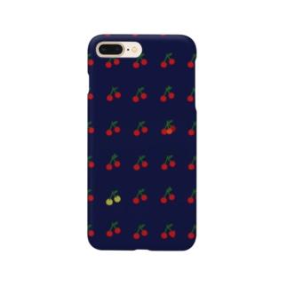 ぷちぷちサクランボ Smartphone cases