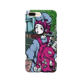 SHUCREAMSのサブカル好きな女の子 Smartphone cases