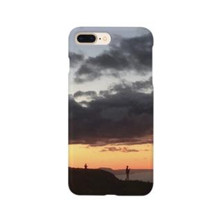 夕日 Smartphone cases