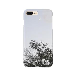 月と木 Smartphone cases