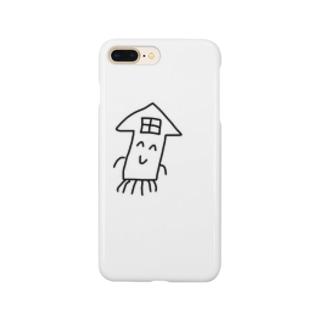 イカハウス Smartphone cases