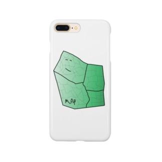 水草のMAPたん1 Smartphone cases
