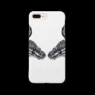 Aya@爬虫類グッズのボールパイソン Smartphone cases
