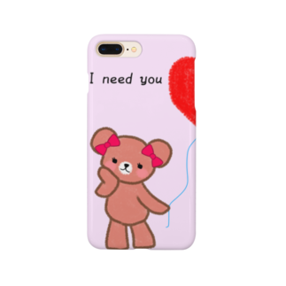 kurumiの彼女のくま Smartphone cases
