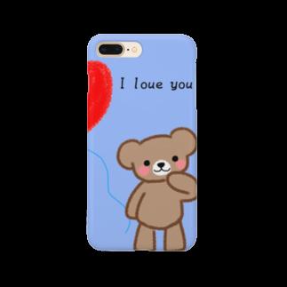kurumiの彼氏のくま Smartphone cases