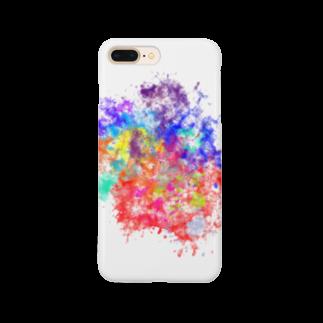 みやび's SHOPのカラフルなスマホケース Smartphone cases