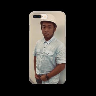 Pine_のヘルメットしょういち Smartphone cases
