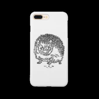 HELLL - ヘル - の左手で描いたハリネズミ Smartphone cases
