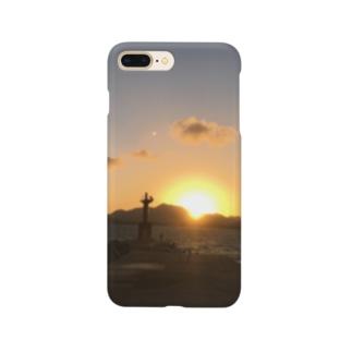 あの日の夕陽 Smartphone cases