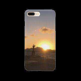 簡易屋さんのあの日の夕陽 Smartphone cases