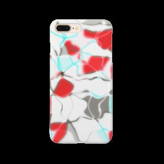 水草の金魚1 Smartphone cases