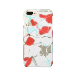 水草の金魚2 Smartphone cases