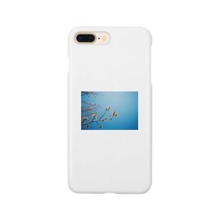 cozcozの春 見上げたら Smartphone cases