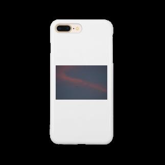cozcozの夕焼け飛行機 Smartphone cases