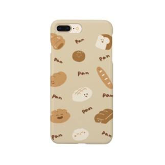 ぴねやのパンいっぱいスマホケース Smartphone cases