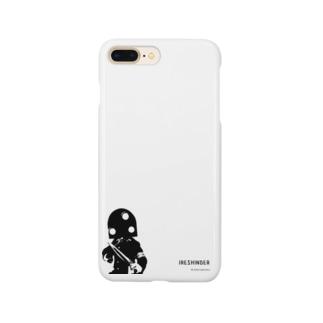 人造人間イレシンダー(英字ロゴ版) Smartphone cases