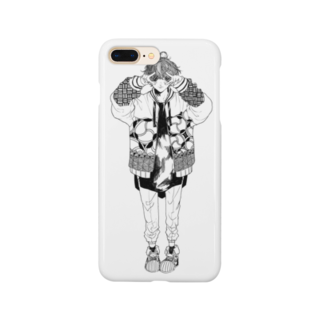 -Hyuga-のぴーす(色なし) Smartphone cases