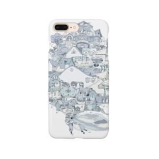 TreeHopper ~ツノゼミの木~ Smartphone cases