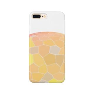 水草のオレンジ玉 Smartphone cases