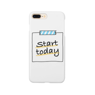SerendipityのStart today  Smartphone cases