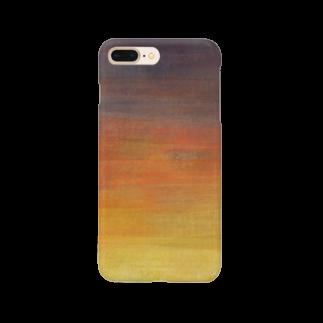 mamikoの夕焼けグラデ Smartphone cases