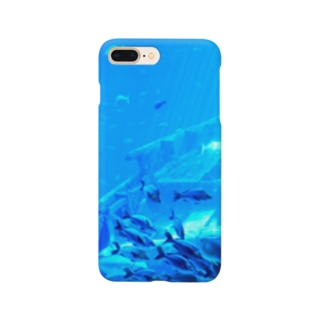 cozcozの青のせかい Smartphone cases