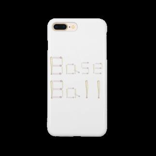 kyonophotoのバットとボールで描いた「BaseBall」 Smartphone cases
