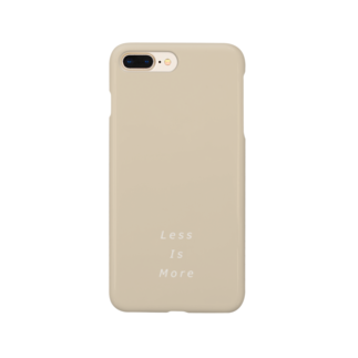 CtakeのLess Is More Smartphone cases
