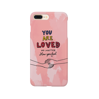 HÖGBRONのYou are loved.. Smartphone cases