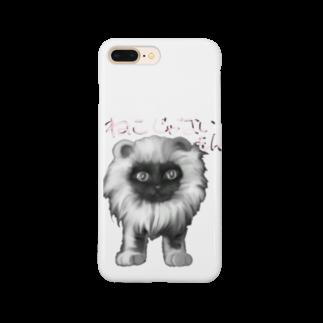 タマのちょびりげ❣️の猫だけど Smartphone cases