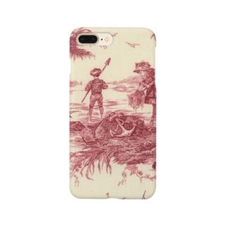 J. Jeffery Print Galleryのトワルドジュイ Toile de Jouy Smartphone cases