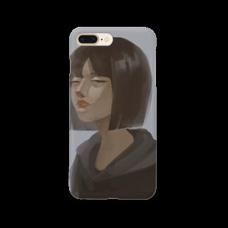 Halseのメンヘラちゃん Smartphone cases